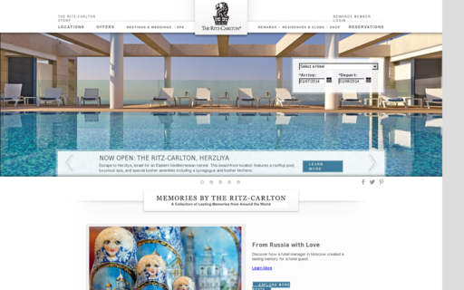 Access ritzcarlton.com using Hola Unblocker web proxy