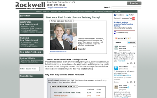 Access rockwellinstitute.com using Hola Unblocker web proxy