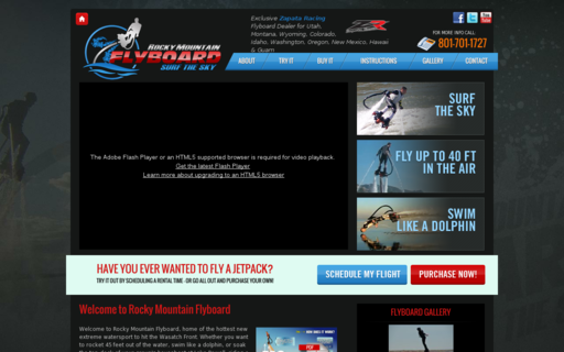 Access rockymountainflyboard.com using Hola Unblocker web proxy
