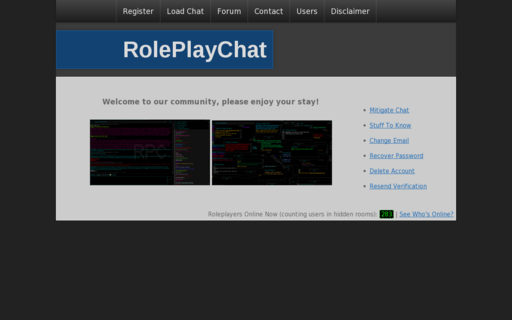 Access roleplaychat.org using Hola Unblocker web proxy