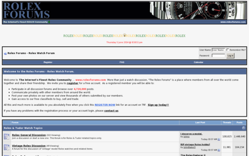 Access rolexforums.com using Hola Unblocker web proxy