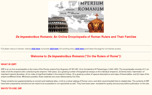 Access roman-emperors.org using Hola Unblocker web proxy