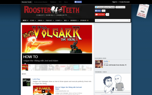 Access roosterteeth.com using Hola Unblocker web proxy