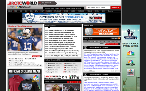 Access rotoworld.com using Hola Unblocker web proxy