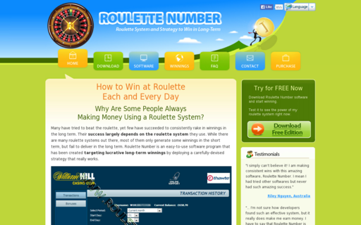 Access roulettenumber.com using Hola Unblocker web proxy