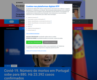 Access rtp.pt using Hola Unblocker web proxy