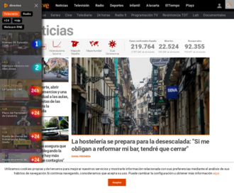 Access rtve.es using Hola Unblocker web proxy