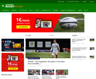Access rugbyrama.fr using Hola Unblocker web proxy
