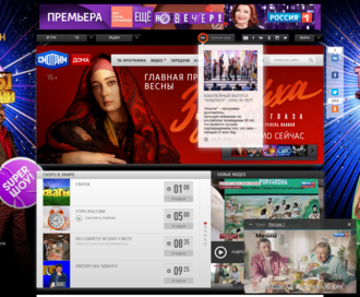 Access russia.tv using Hola Unblocker web proxy