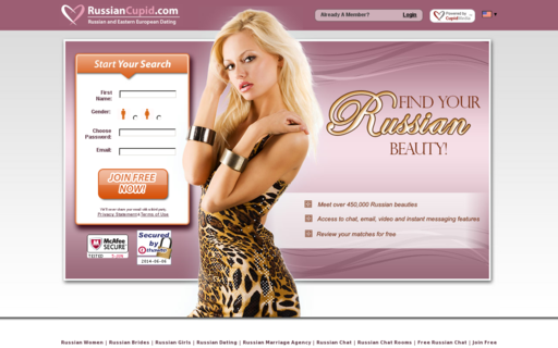 Access russiancupid.com using Hola Unblocker web proxy