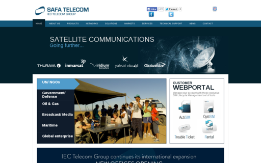 Access safa-telecom.com using Hola Unblocker web proxy