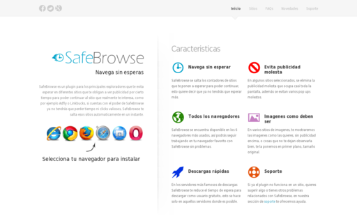 Access safebrowse.co using Hola Unblocker web proxy