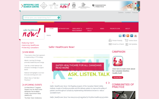 Access saferhealthcarenow.ca using Hola Unblocker web proxy