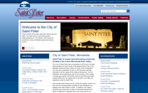Access saintpetermn.gov using Hola Unblocker web proxy
