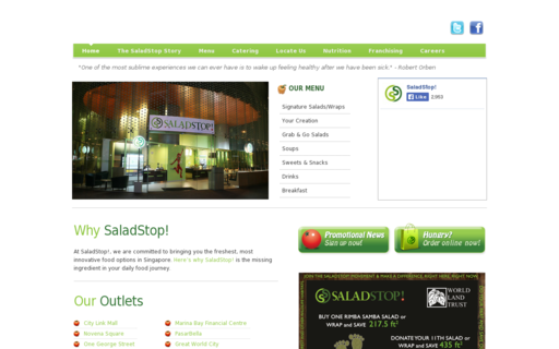 Access saladstop.com.sg using Hola Unblocker web proxy