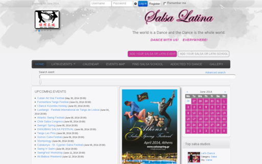 Access salsa-latina.com using Hola Unblocker web proxy