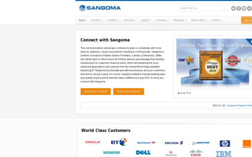 Access sangoma.com using Hola Unblocker web proxy