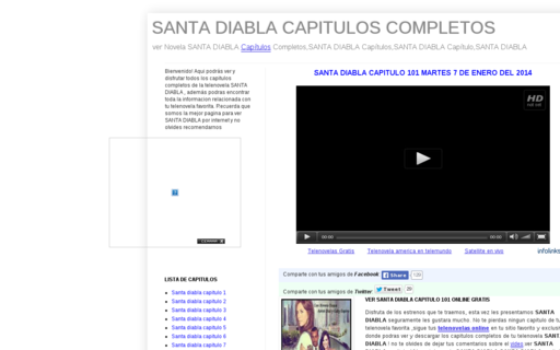 Access santadiablacapitulos.net using Hola Unblocker web proxy