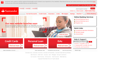Access santander.co.uk using Hola Unblocker web proxy