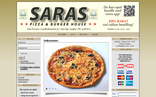 Access saraspizza.dk using Hola Unblocker web proxy