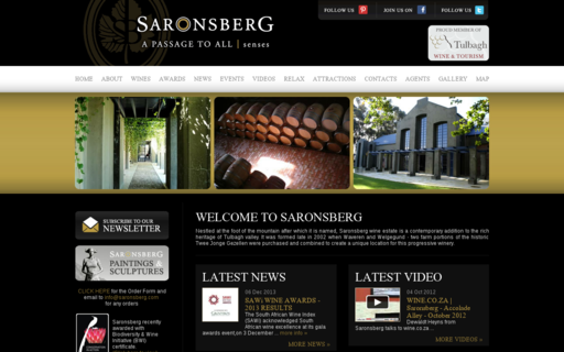 Access saronsberg.com using Hola Unblocker web proxy