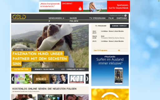 Access sat1gold.de using Hola Unblocker web proxy