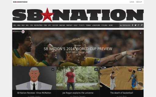 Access sbnation.com using Hola Unblocker web proxy