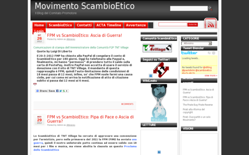 Access scambioetico.org using Hola Unblocker web proxy