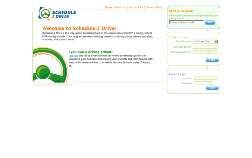 Access schedule2drive.com using Hola Unblocker web proxy