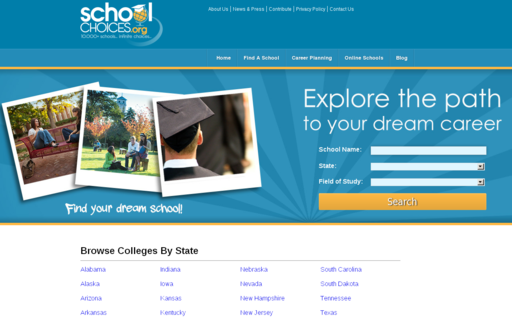 Access schoolchoices.org using Hola Unblocker web proxy
