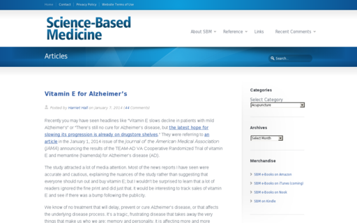 Access sciencebasedmedicine.org using Hola Unblocker web proxy