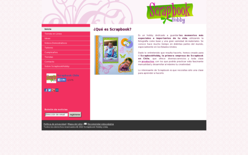 Access scrapbookhobbychile.com using Hola Unblocker web proxy