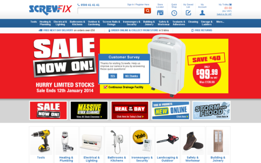 Access screwfix.com using Hola Unblocker web proxy
