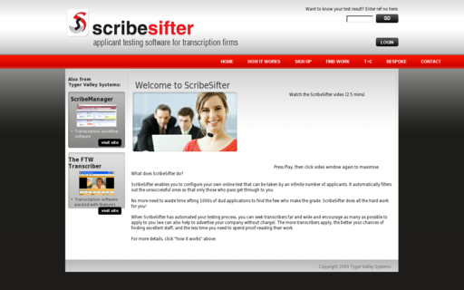 Access scribesifter.com using Hola Unblocker web proxy