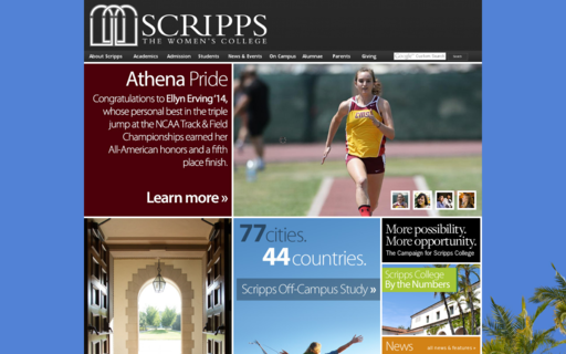 Access scrippscollege.edu using Hola Unblocker web proxy