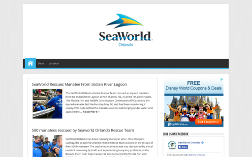 Access seaworld-orlando.com using Hola Unblocker web proxy