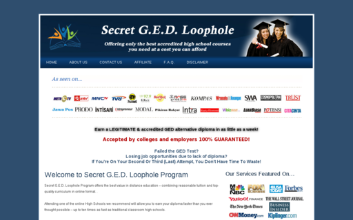 Access secretgedloophole.com using Hola Unblocker web proxy