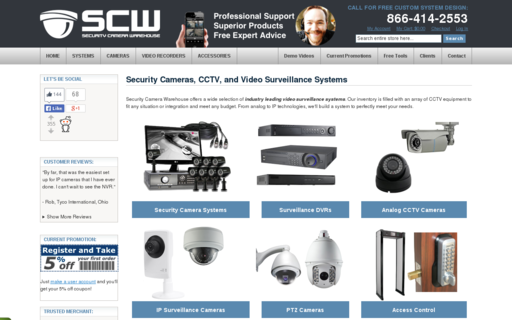 Access security-camera-warehouse.com using Hola Unblocker web proxy