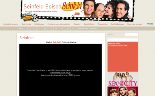 Access seinfeld-episodes.com using Hola Unblocker web proxy
