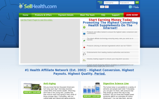 Access sellhealth.com using Hola Unblocker web proxy