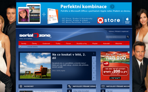 Access serialzone.cz using Hola Unblocker web proxy