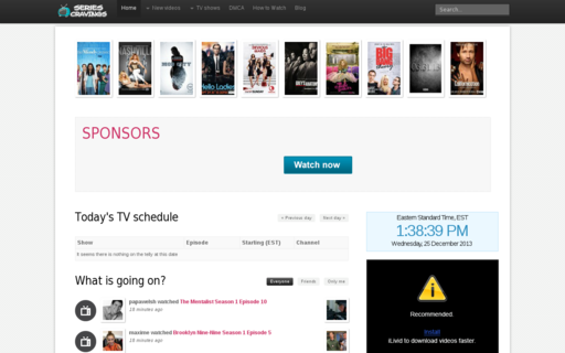 Access series-cravings.tv using Hola Unblocker web proxy
