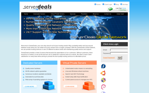 Access serverdeals.org using Hola Unblocker web proxy