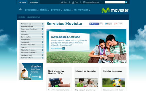 Access serviciosmovistar.com using Hola Unblocker web proxy