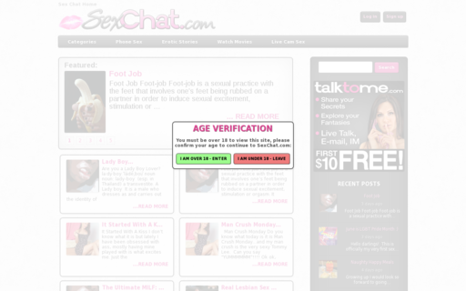 Access sexchat.com using Hola Unblocker web proxy