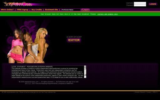 Access sexyasiancams.com using Hola Unblocker web proxy