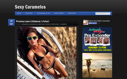 Access sexycaramelos.com using Hola Unblocker web proxy