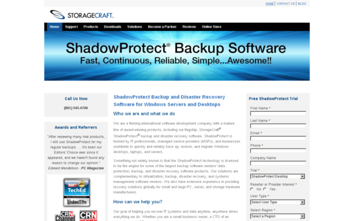 Access shadowprotect.com using Hola Unblocker web proxy