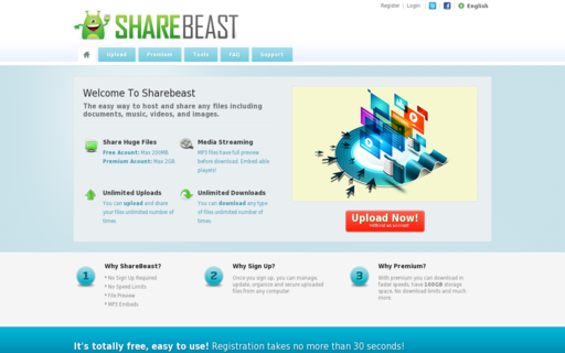 Access sharebeast.com using Hola Unblocker web proxy