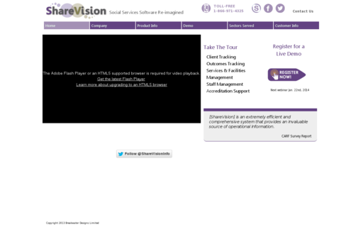 Access sharevision.ca using Hola Unblocker web proxy